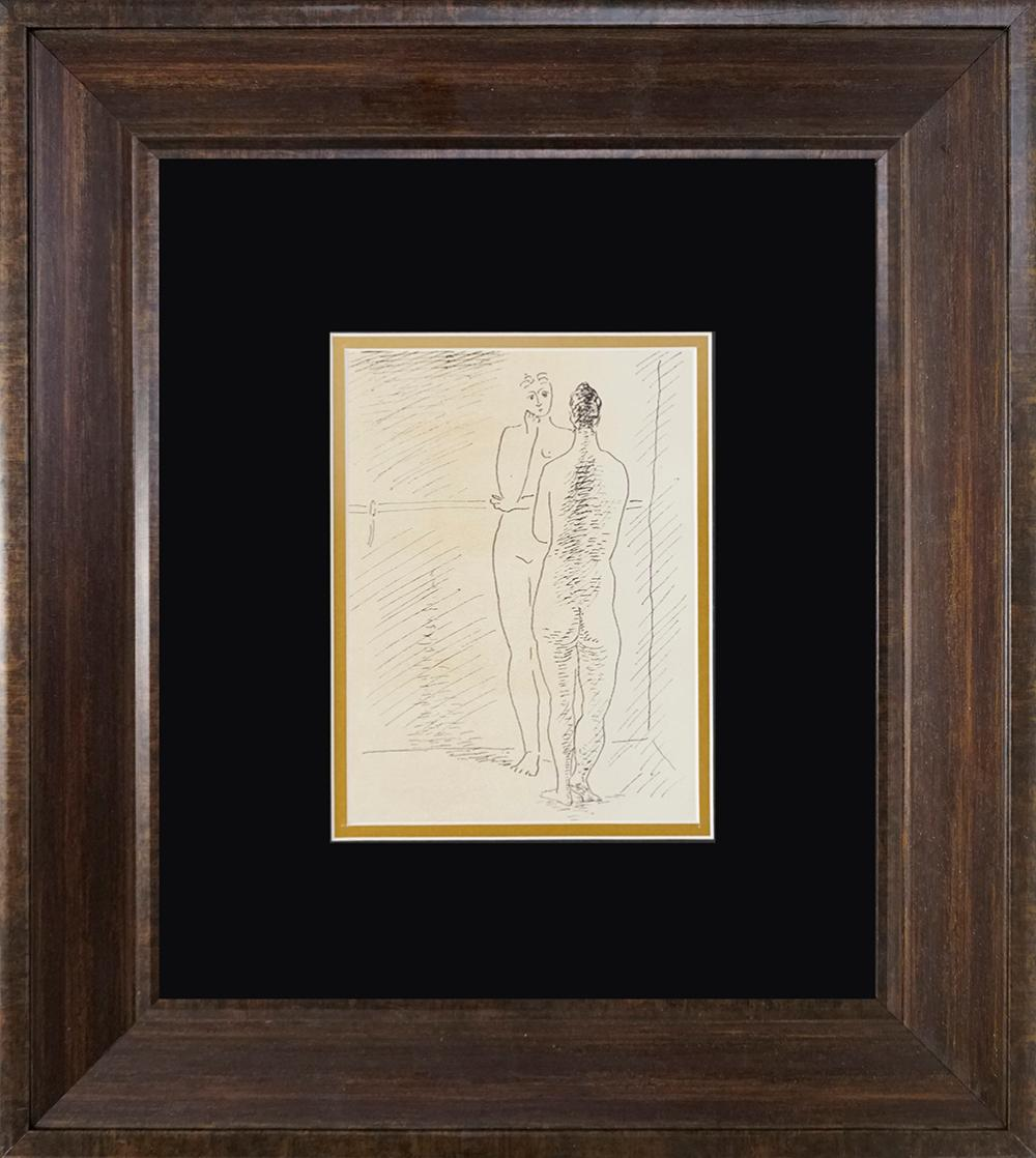 Lot 2721: Pablo Picasso lithograph from 90 years ago Antique on Velin from 1926 Paris
