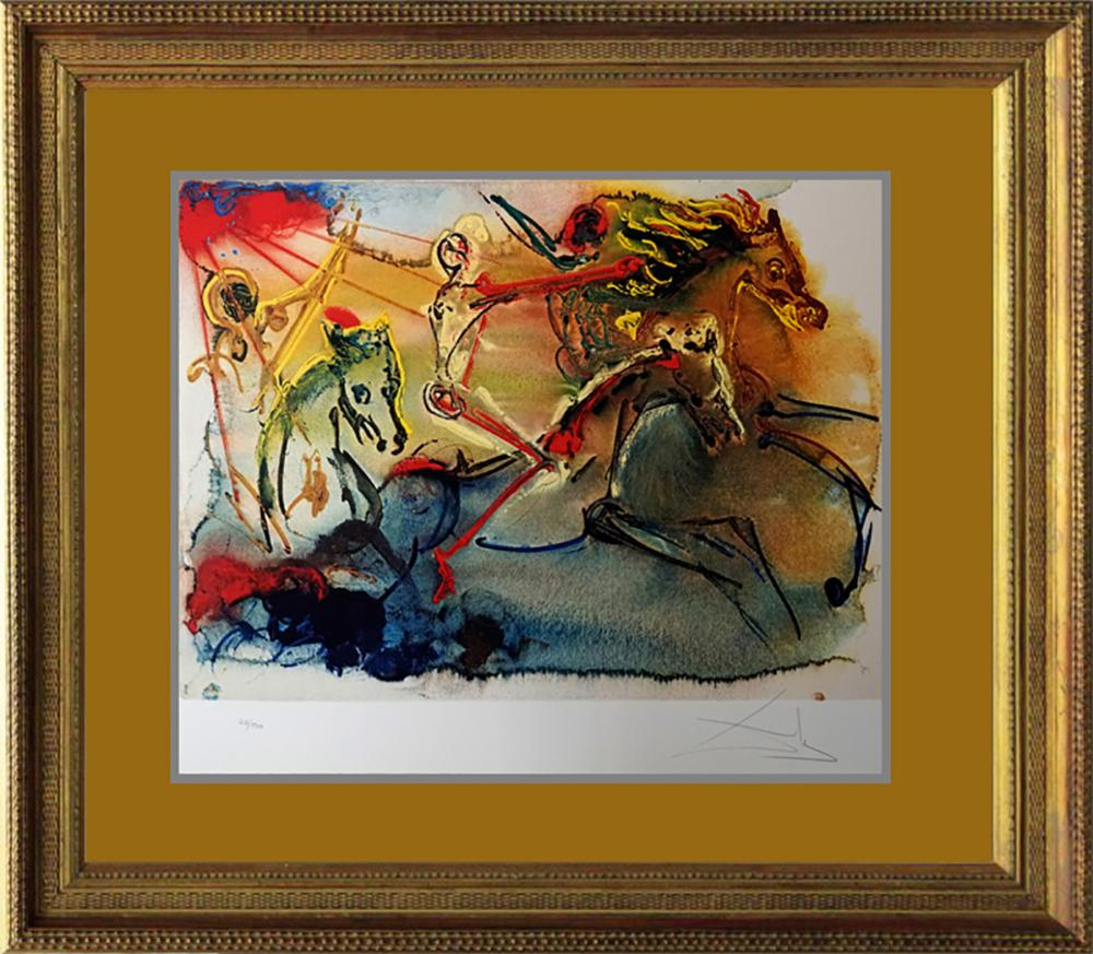 Lot 2693: Salvador Dali Limited Edition Lithograph
