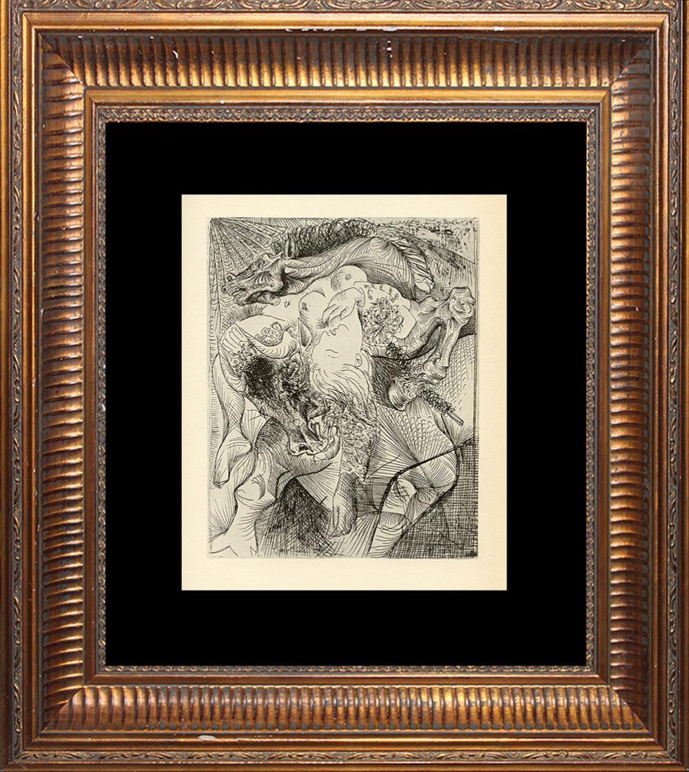 Pablo Picasso Lithograph 1961 Mourlot Press
