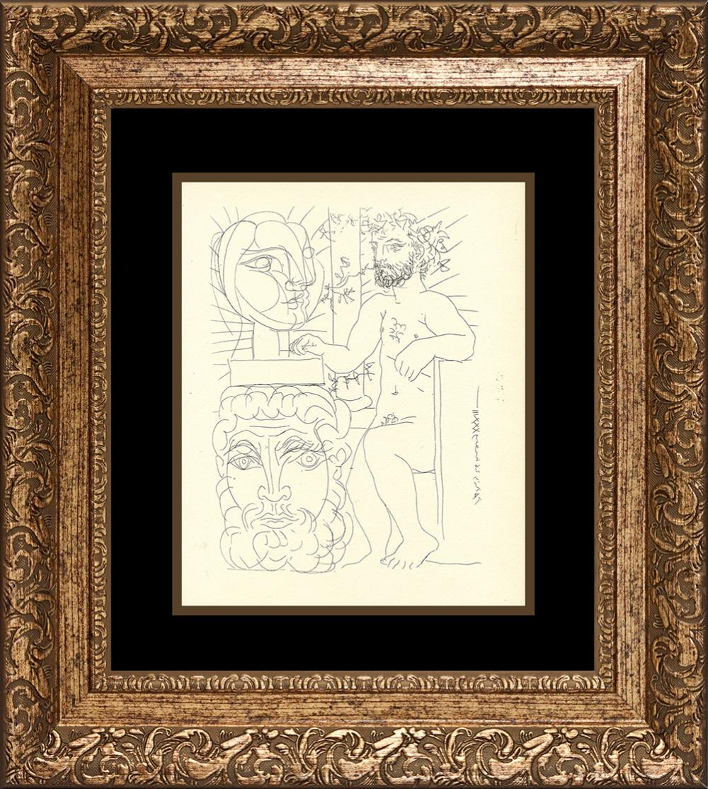 Picasso Lithograph from Vollard Collection