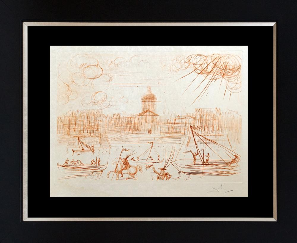 Lot 2715: Salvador Dali Limited Edition Lithograph
