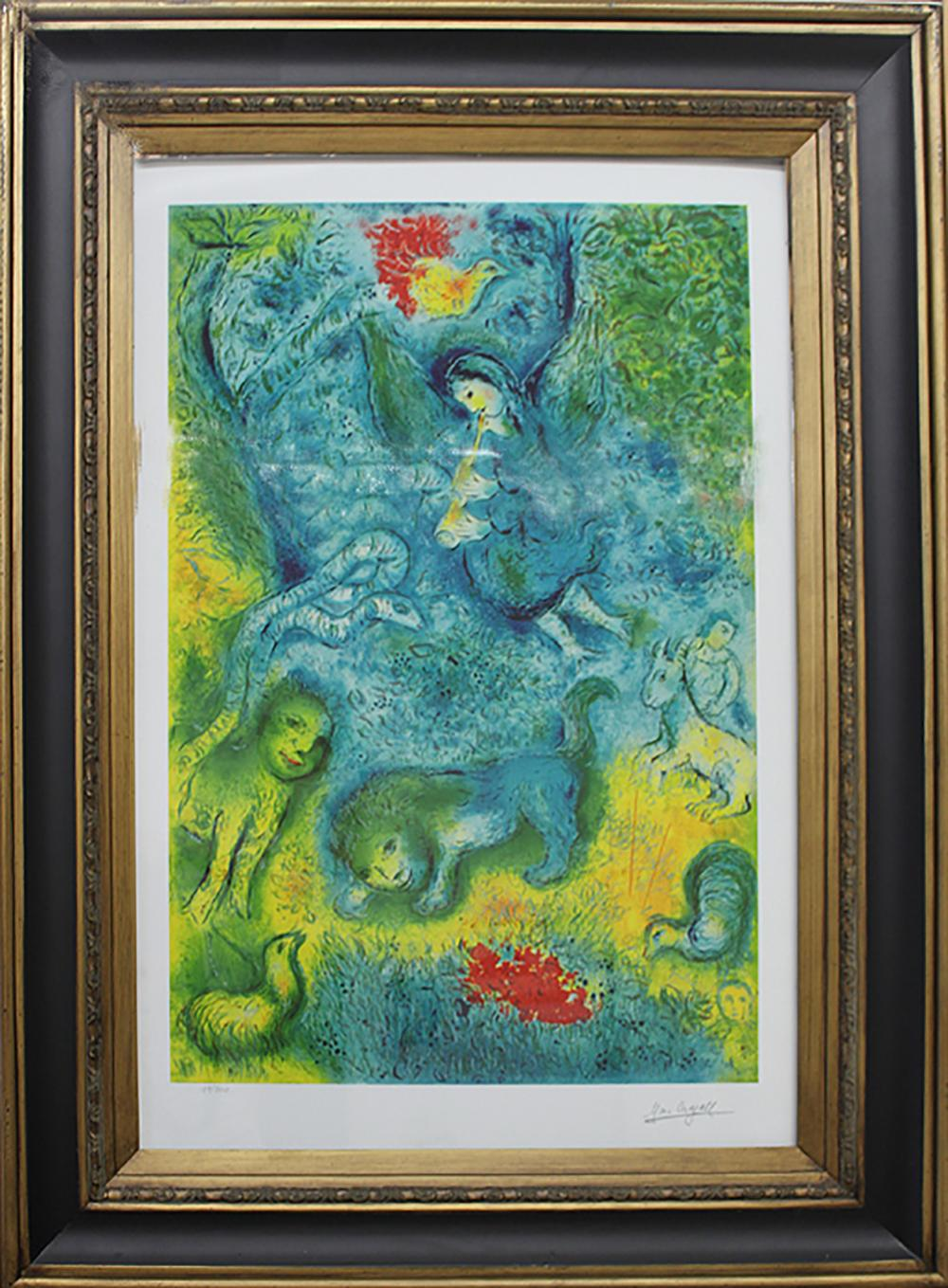 Lot 2716: Marc Chagall- Limited Edition Lithograph-Magic Flute
