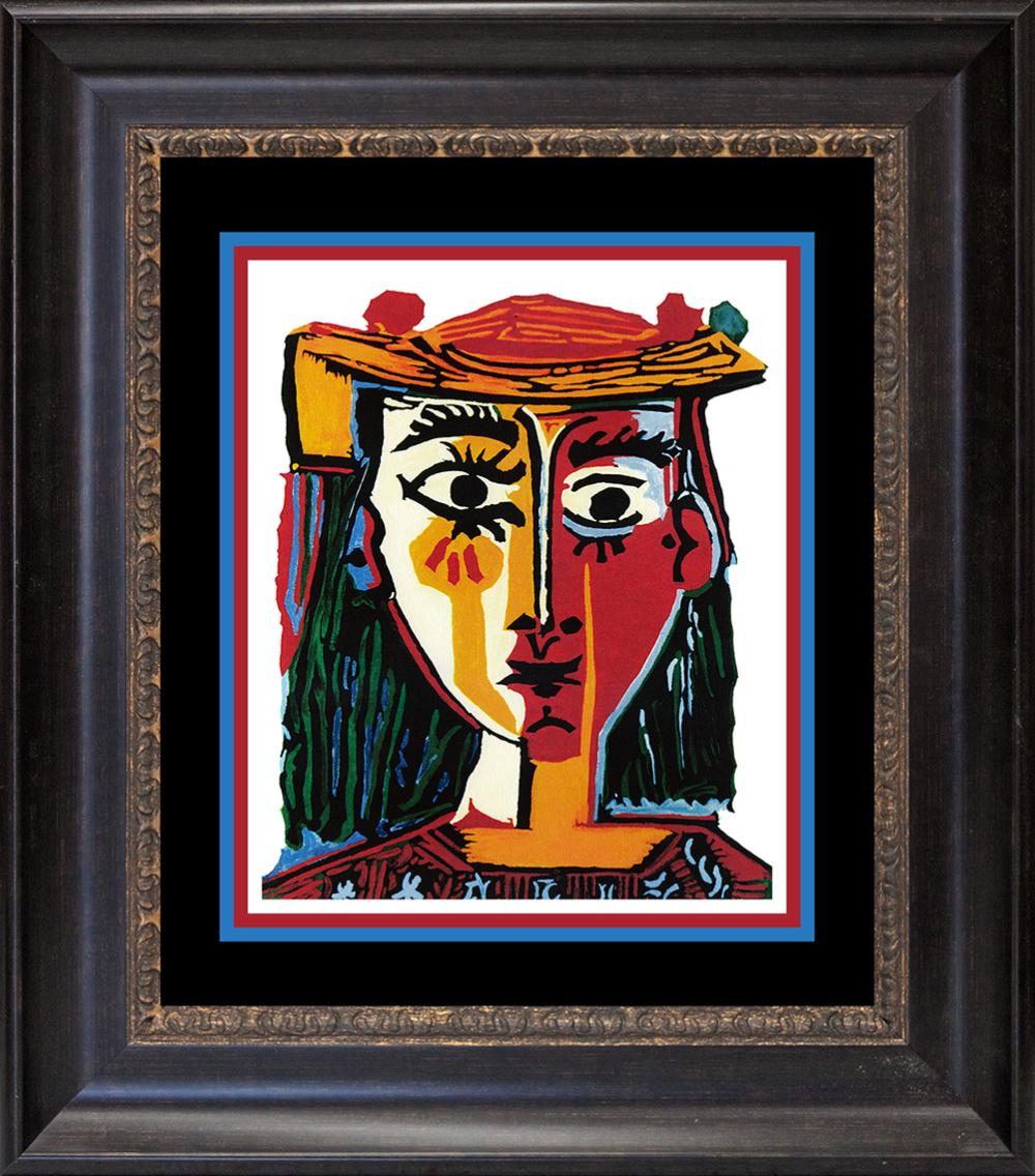 Woman with Hat  Pablo Picasso Collection Domaine Limited Ediition