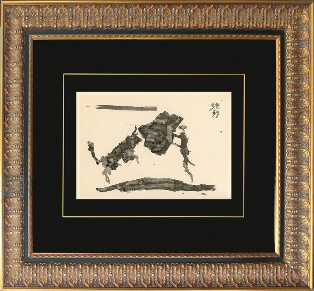 Pablo Picasso Original Lithograph Toros Y Toreros 1961 Mourlot Press