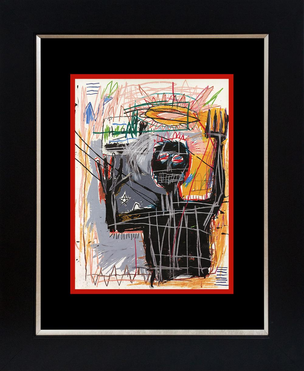 Jean Michel Basquiat Lithograph from 1991