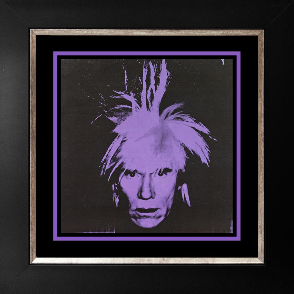 Lot 2753: Andy Warhol Self Portrait Lithograph
