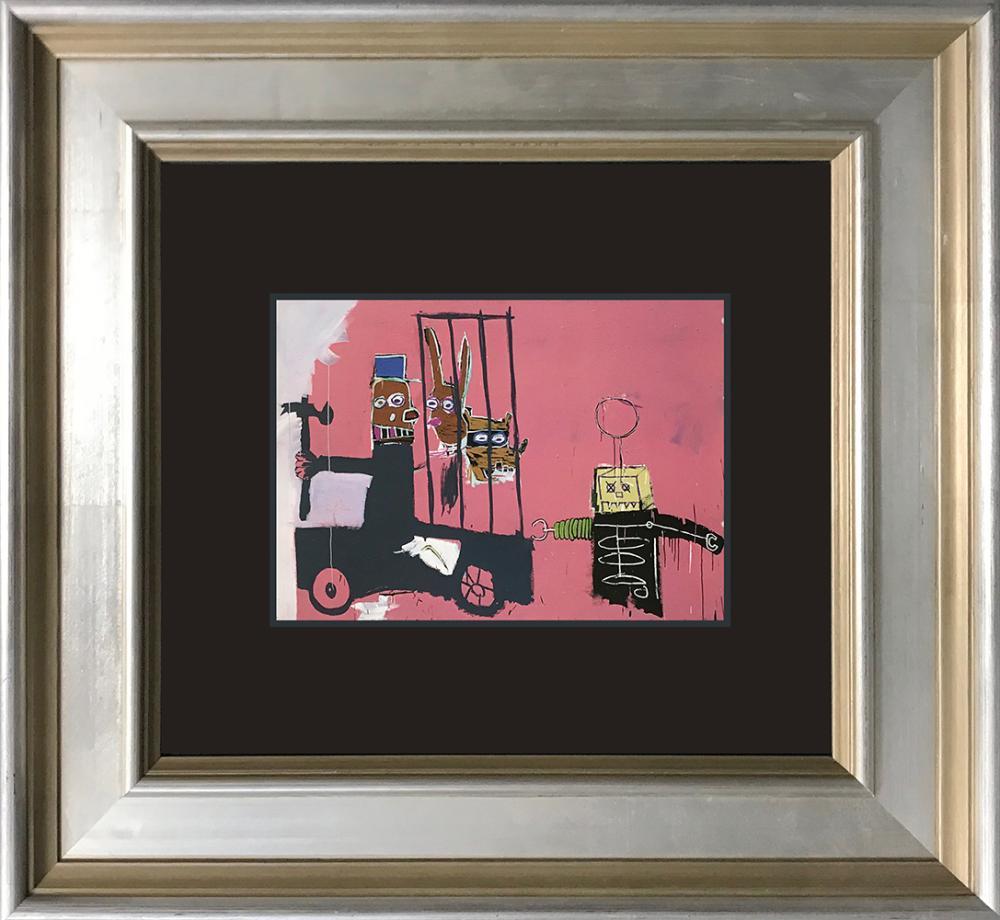 Jean Michel Basquiat Color Plate Lithograph