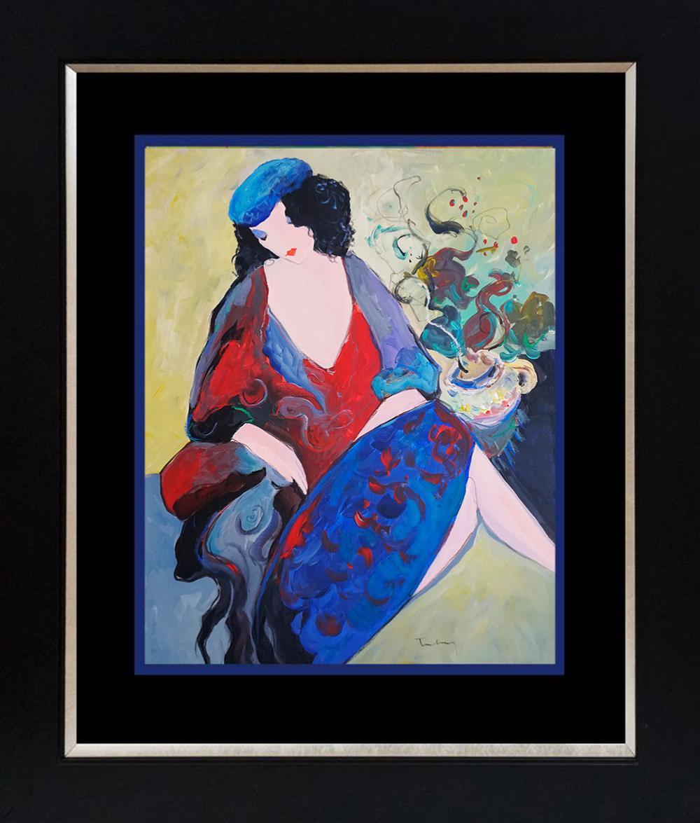 Lot 2775: Tarkay original on canvas
