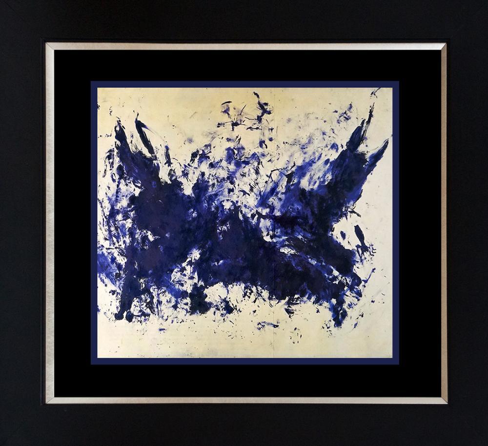 Yves Klein Grande Color Plate Lithograph