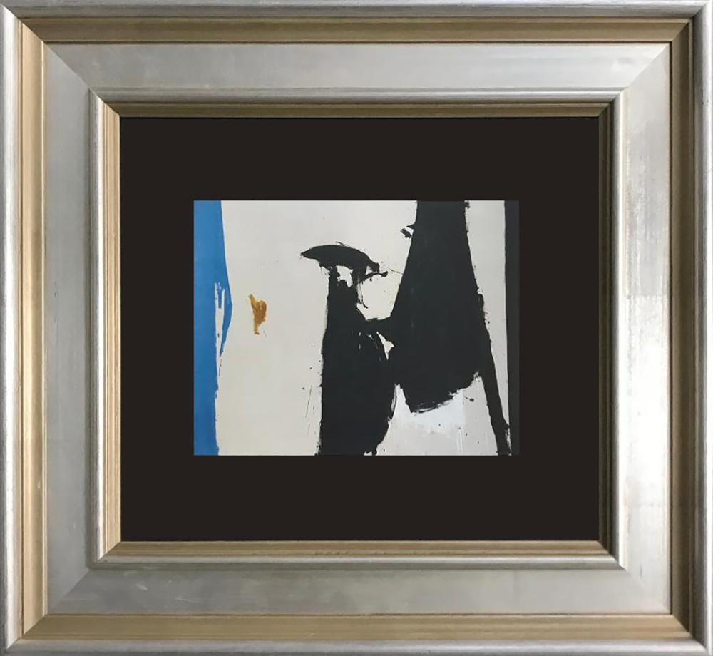 Robert Motherwell color plate lithograph
