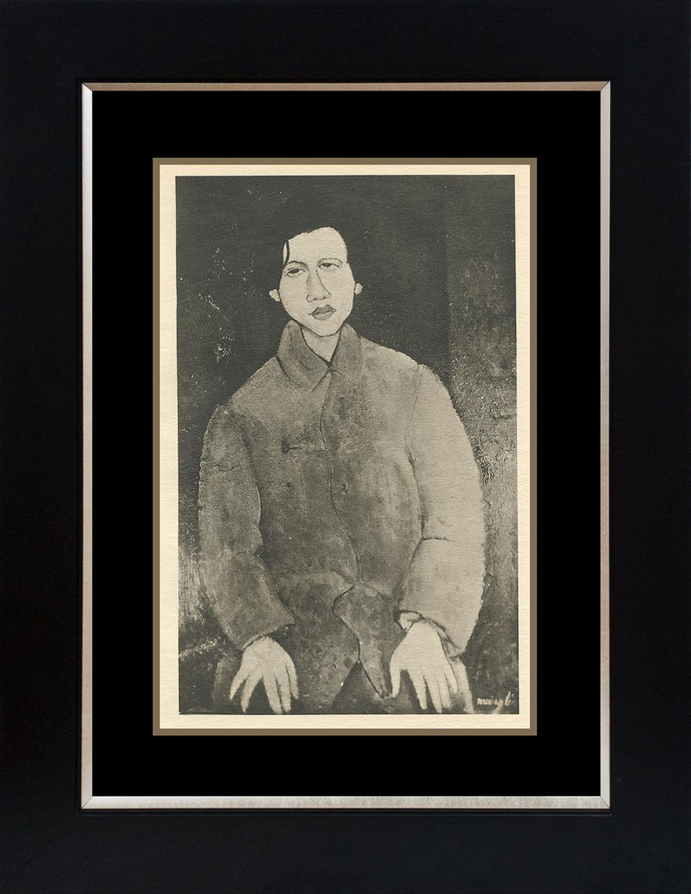 Lot 2809: Modigliani Lithograph from 1929
