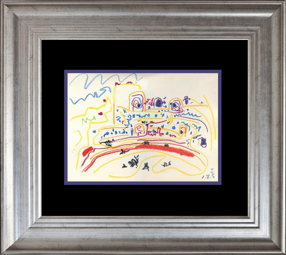 Pablo Picasso Lithograph 60 years ago Corrida