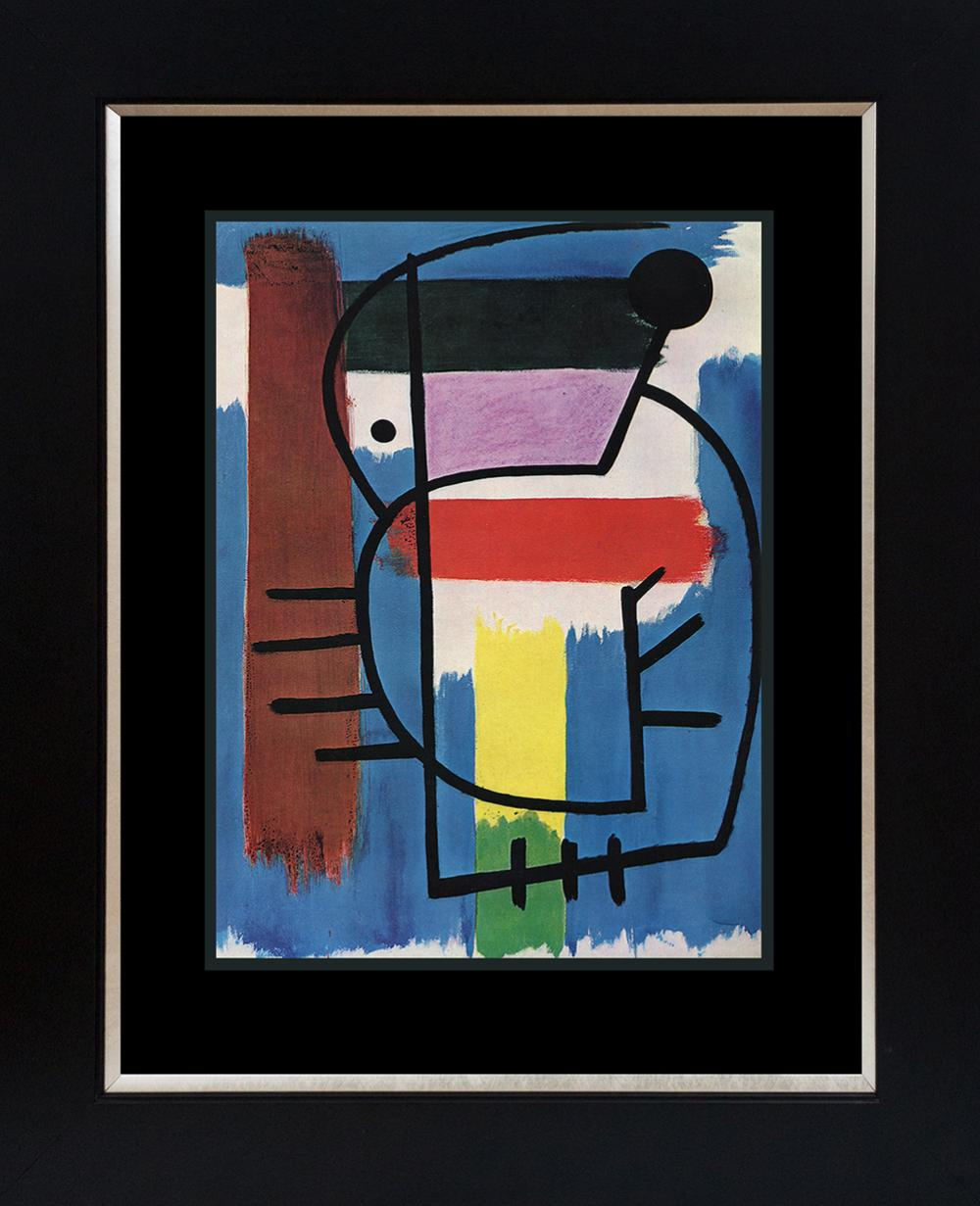 Joan Miro  Seated Woman  Color Plate Lithograph