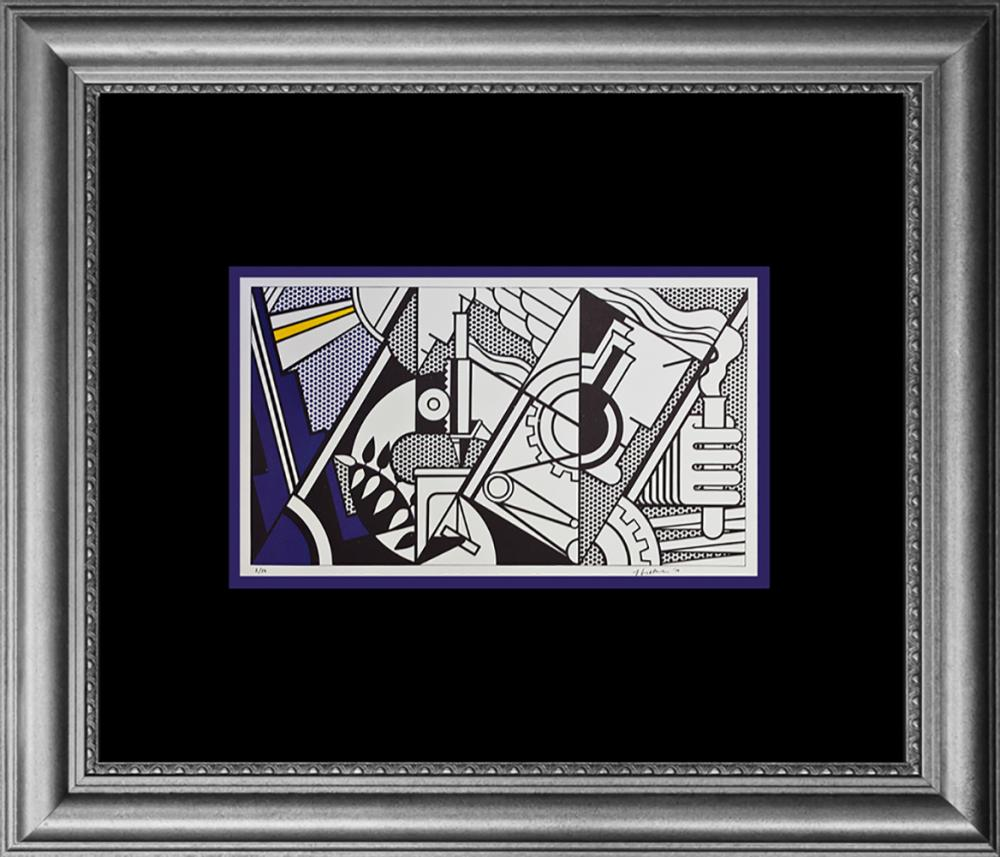 Lot 2820: Roy Lichtenstein Color Plate Lithograph 1970