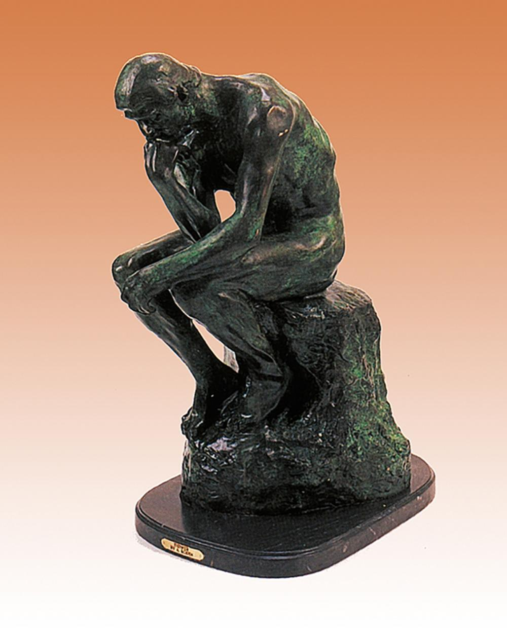 Auguste Rodin The Thinker Bronze Sculpture