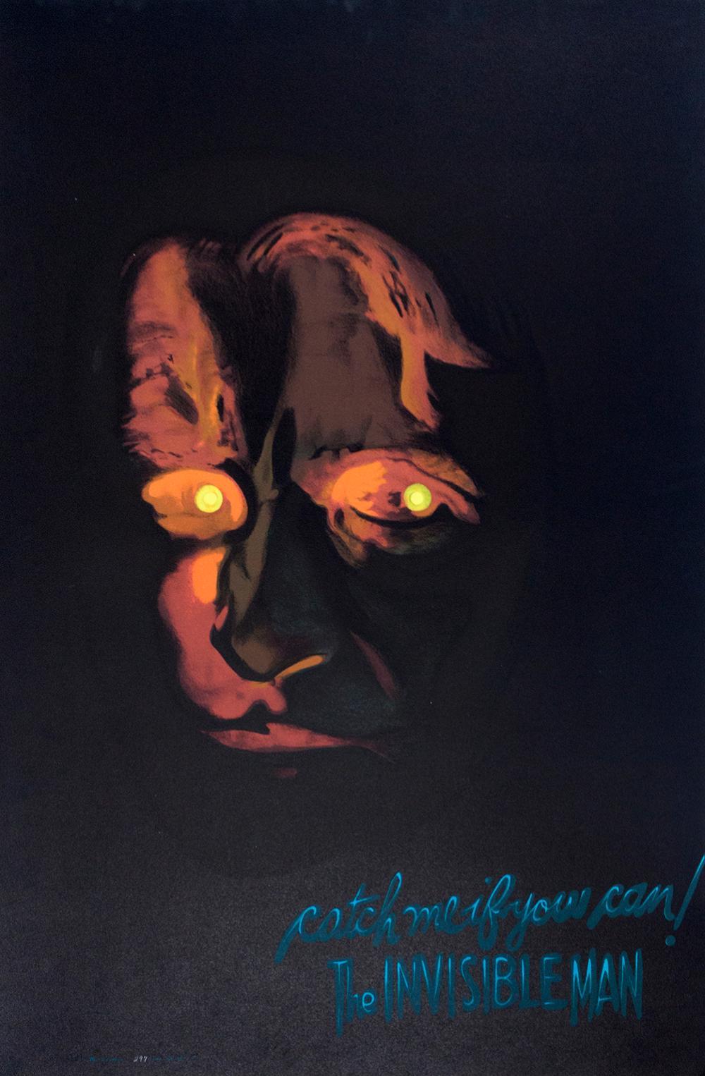 The Invisible Man Original Lithograph circa 1970