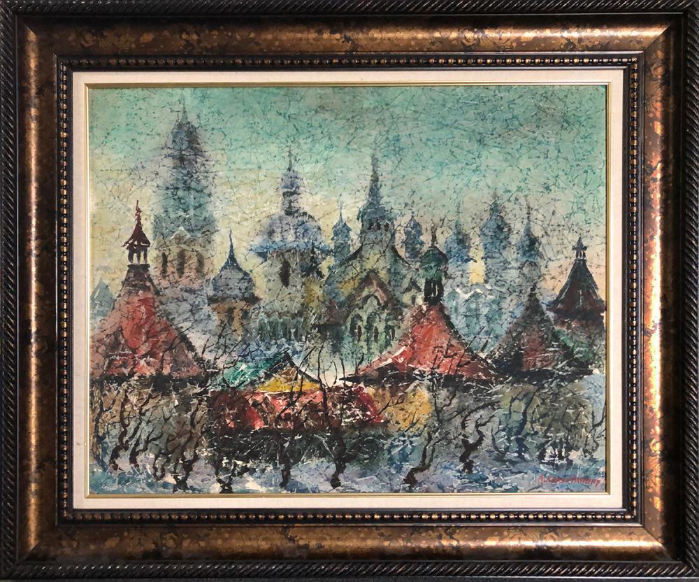 Original by Anatole Krasniansky  Rooftops
