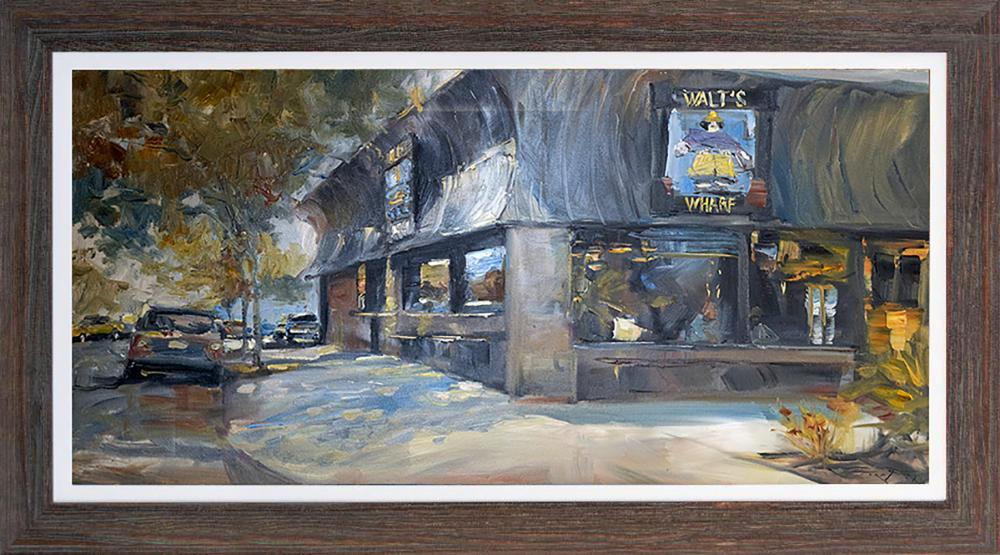 Jorn Fox original on canvas