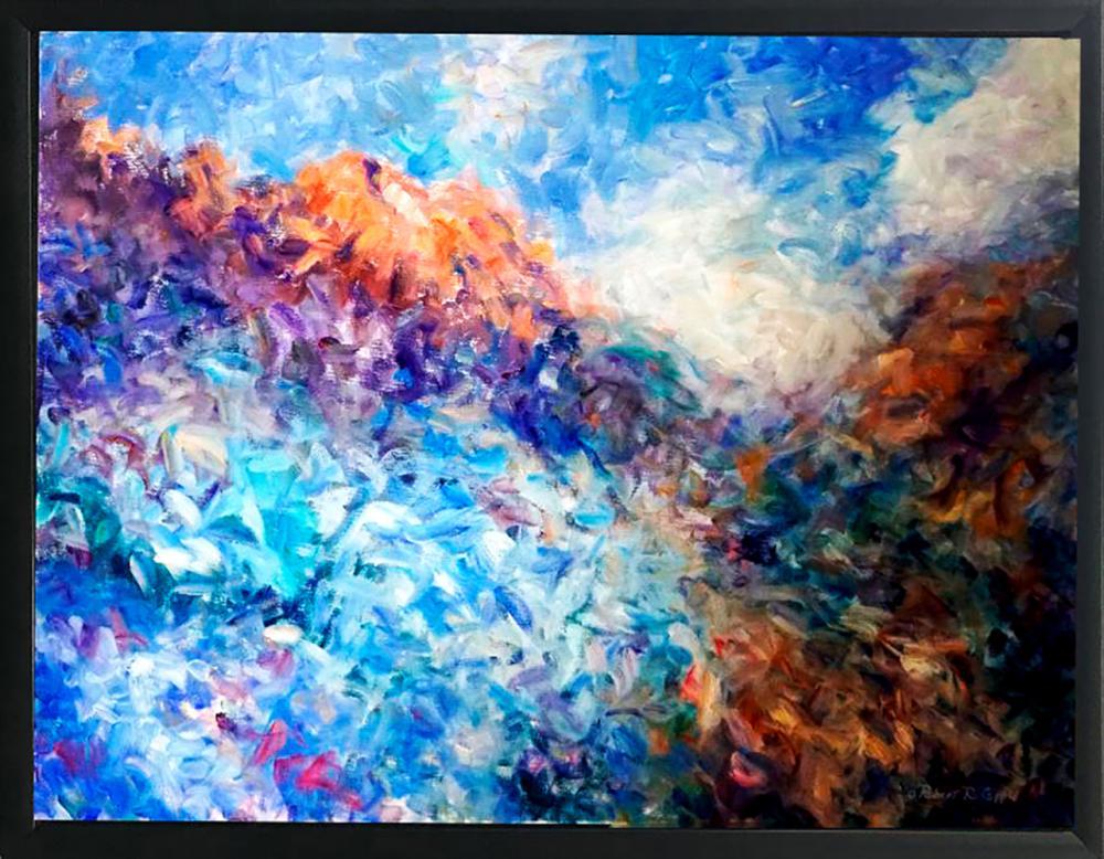 Robert Copple Original on canvas