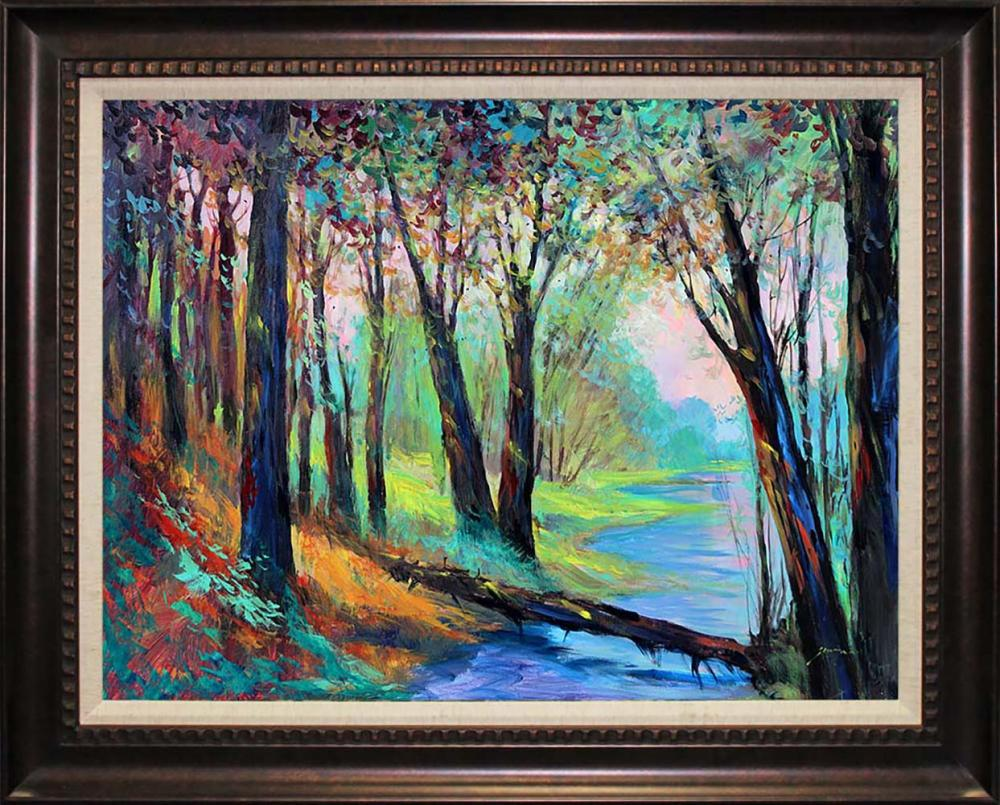 Lot 2879: Michael Schofield Original on canvas