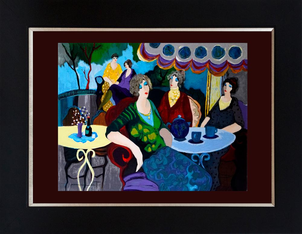 Lot 2869: Tarkay Limited Edition Serigraph on canvas