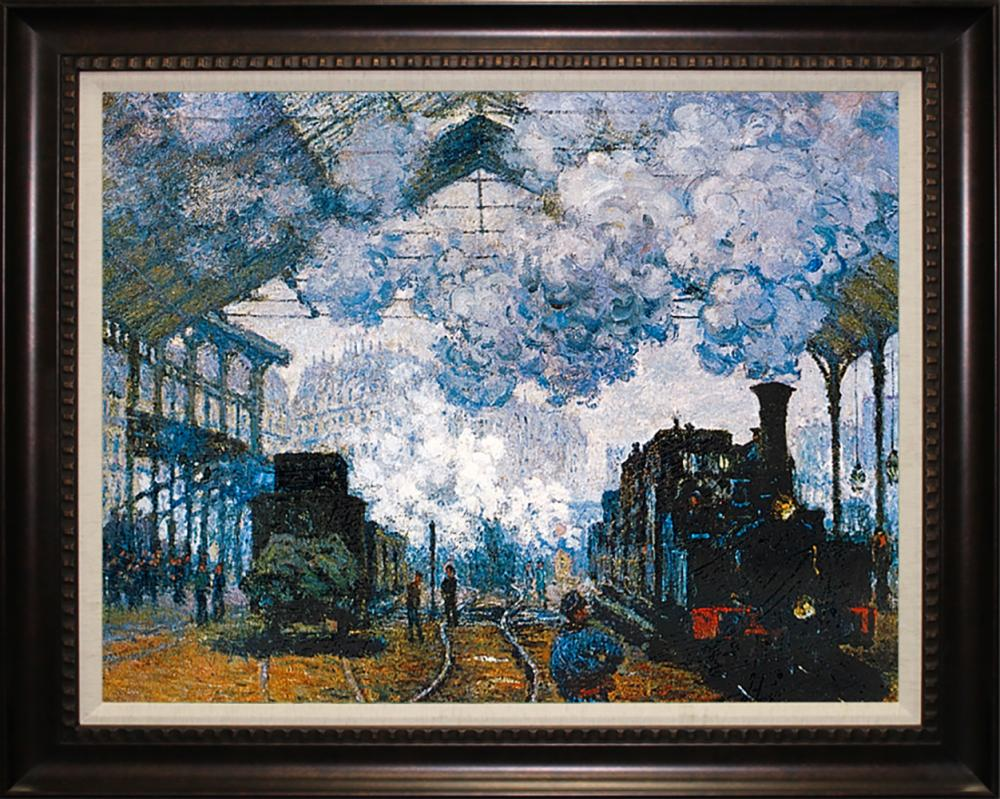 Claude Monet after-Saint-Lazare Station Limited Edition