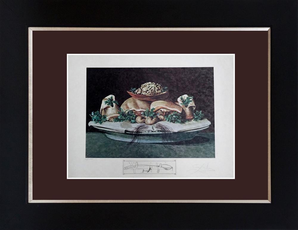 Lot 2893: Salvador Dali Limited Edition Lithograph