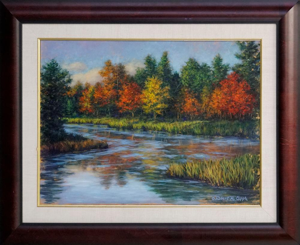 Robert Copple Original oil on canvas