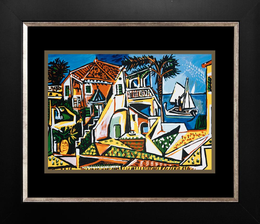 Mediterranean Landscape  Pablo Picasso Collection Domaine Limited Ediition