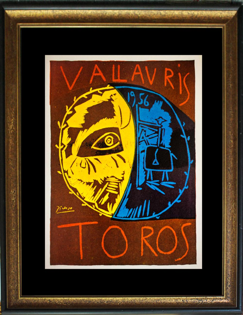 Pablo Picasso color Lithograph printed in 1964 and published by Joseph Foster