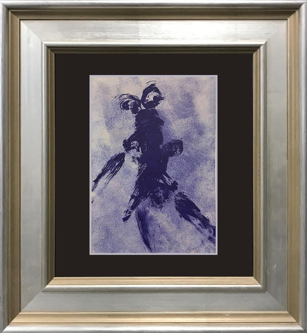 Yves Klein color plate Lithograph