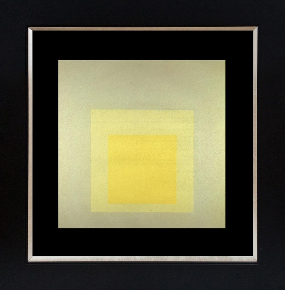 Josef Albers Color Plate  Lithograph from 1968 In Time