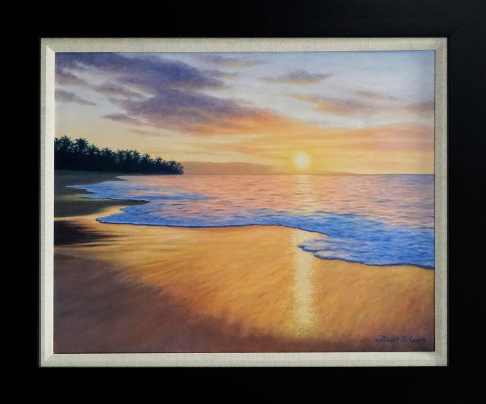 Lot 2934: Robert Copple Hand embellished on canvas Limited Edition