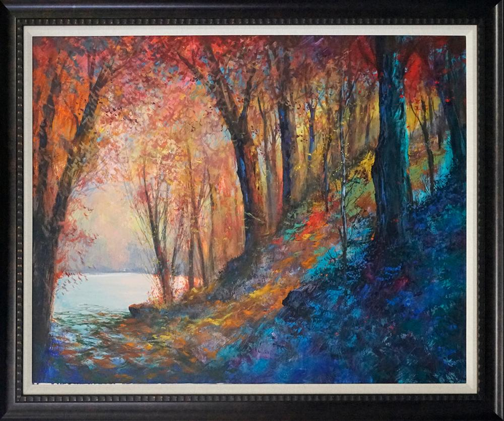 Lot 2936: Michael Schofield hand emblellished limited edition on canvas