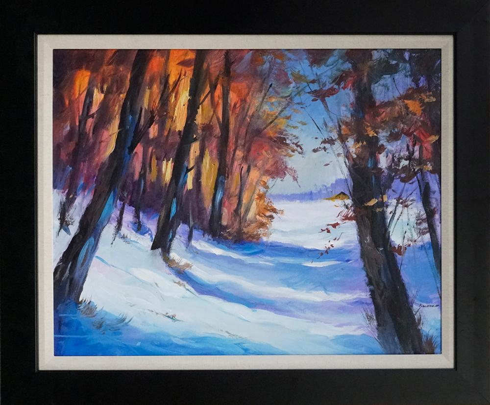 Lot 2960: Michael Schofield Original on canvas