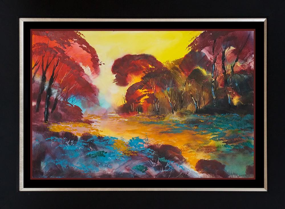Lot 2962: Original Landscape by Michael Schofield