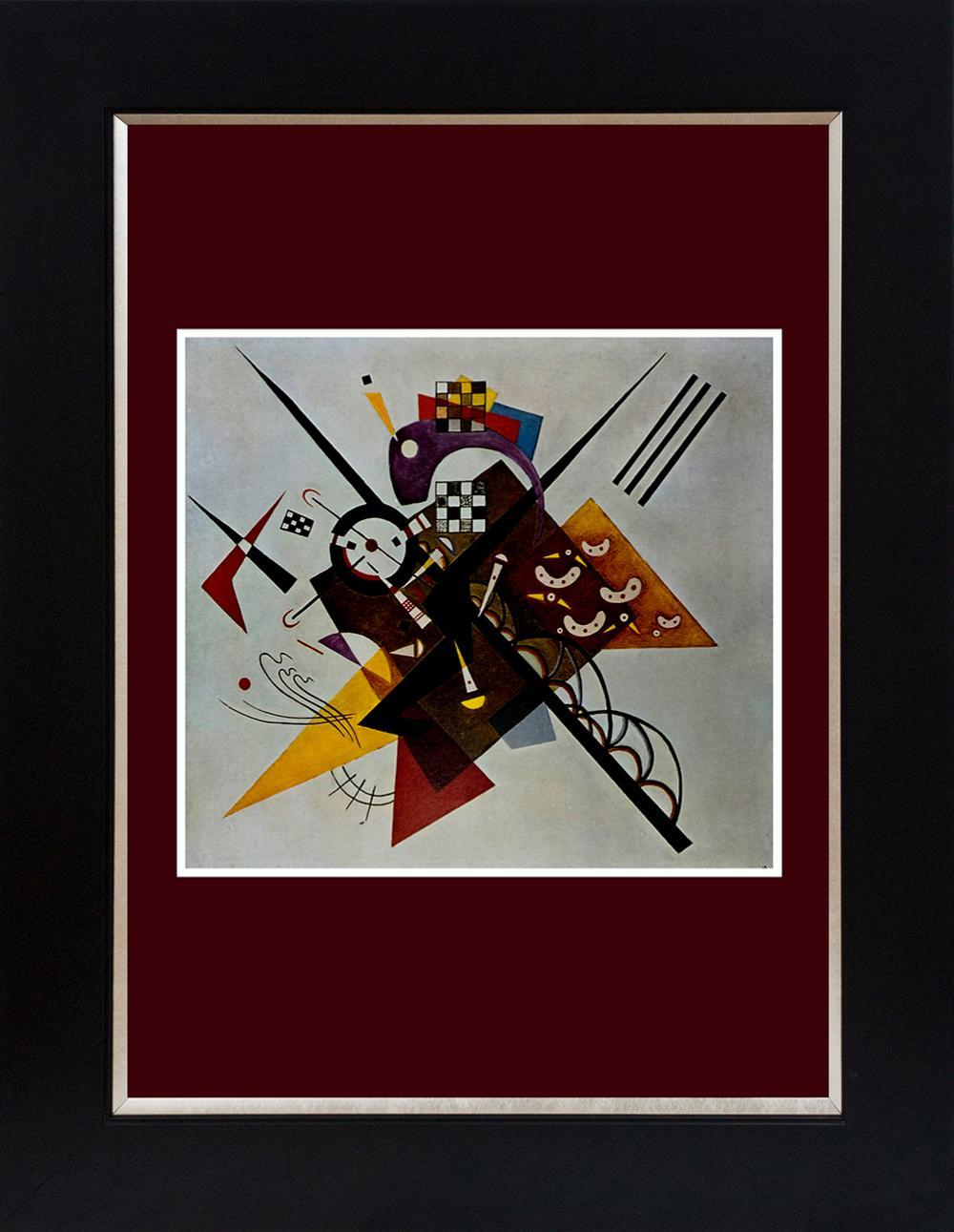Lot 2998: Kandinsky color plate lithograph
