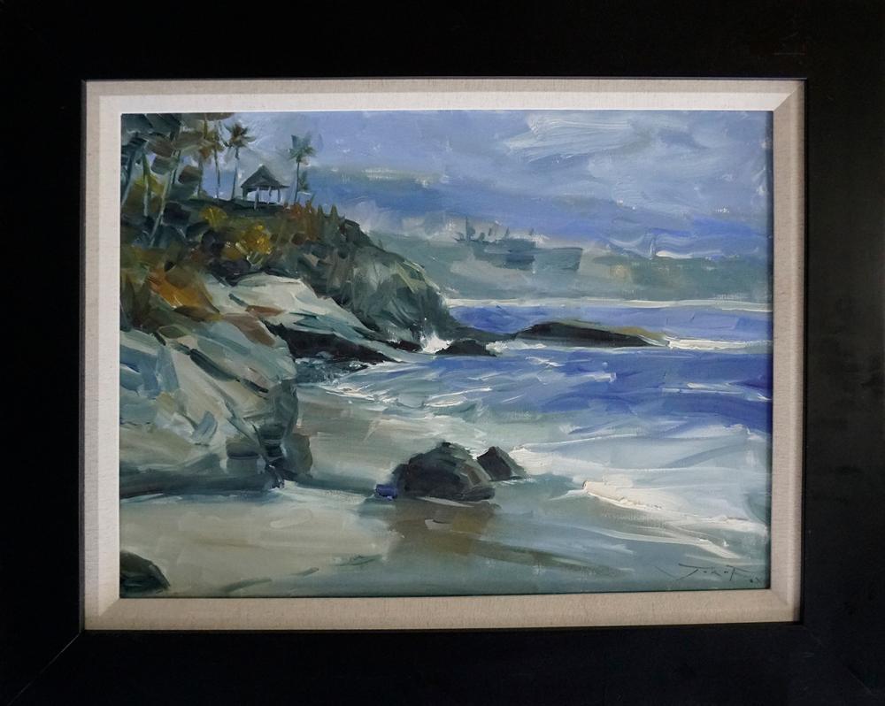 Lot 2997: Jorn Fox original on canvas