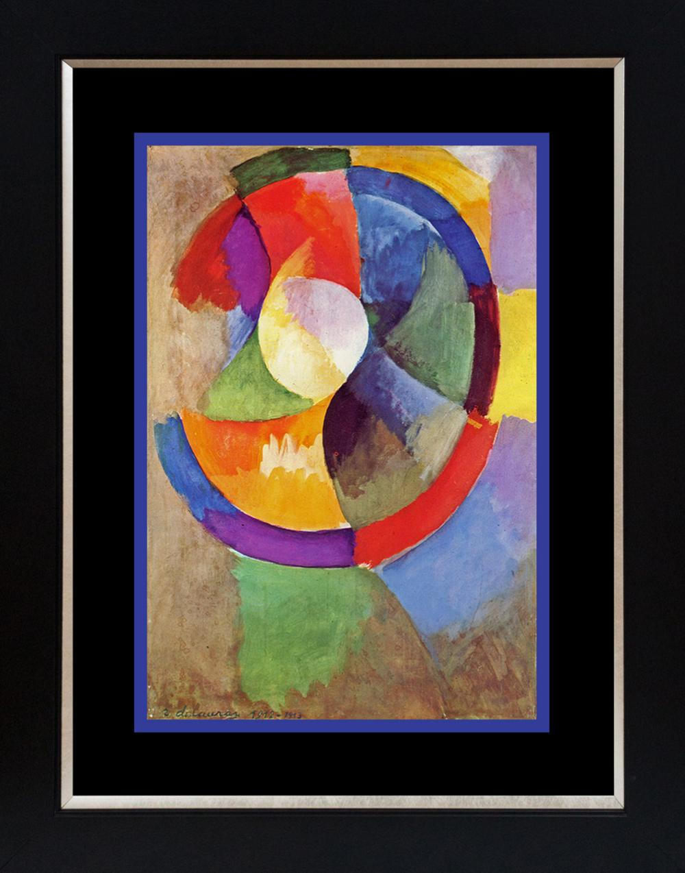 Lot 3000: Robert DeLaunay Color Plate Lithograph from 1957