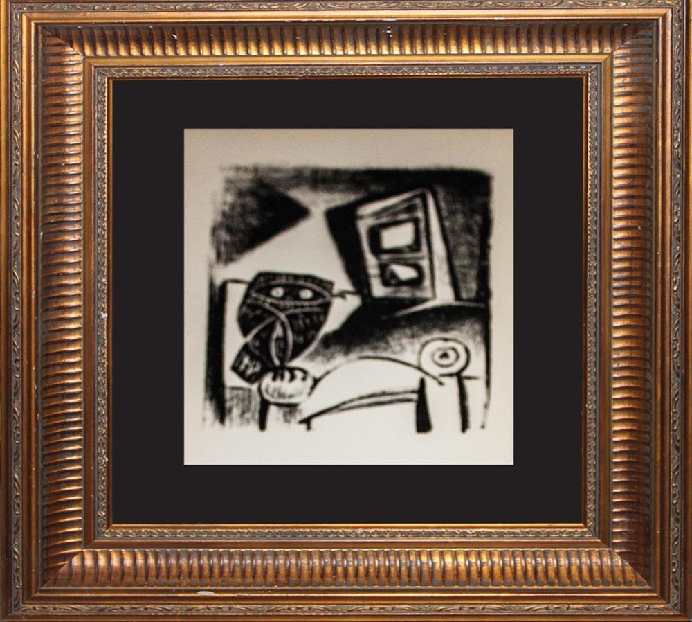 Lot 3015: Pablo Picasso Lithograph from 1970