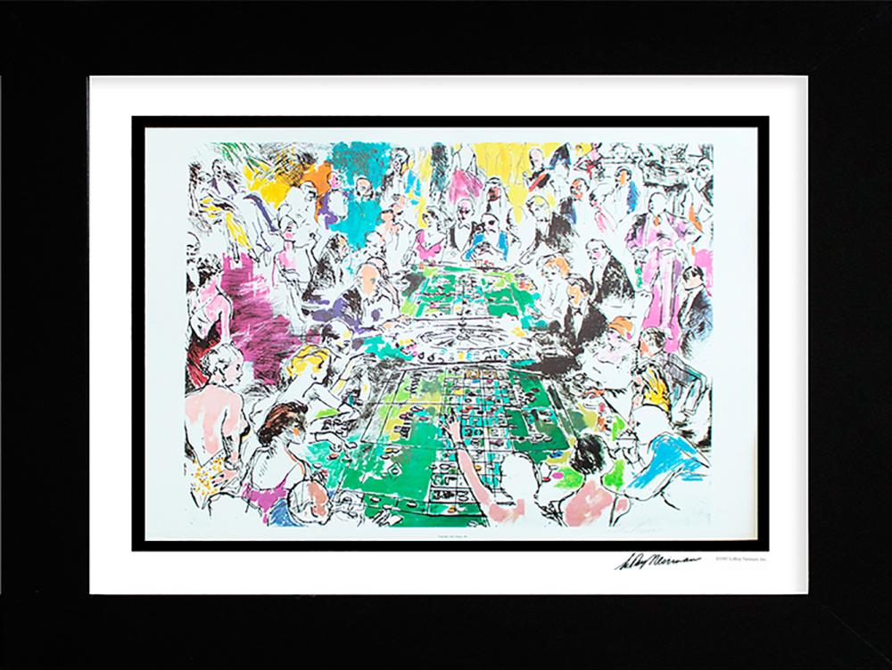 Lot 3011: LeRoy Neiman Hand signed Lithograph The Game of Life