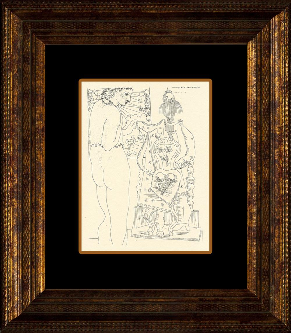 Lot 3016: Pablo Picasso lithograph from 1957