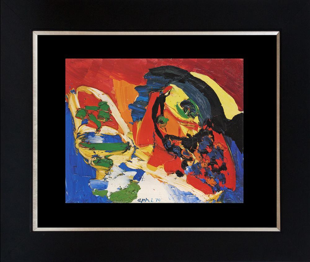 Lot 3003: Karel Appel Color Plate Lithograph