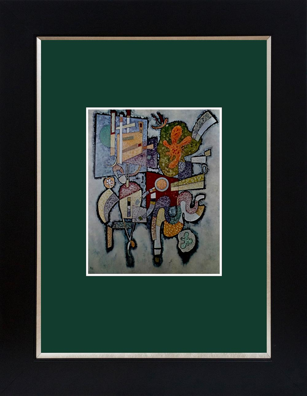 Lot 3002: Kandinsky color plate Lithograph