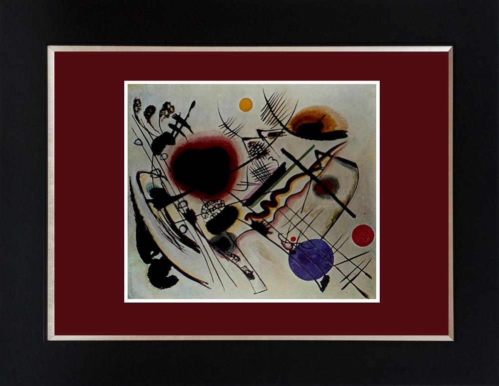 Lot 2999: Kandinsky color plate lithograph