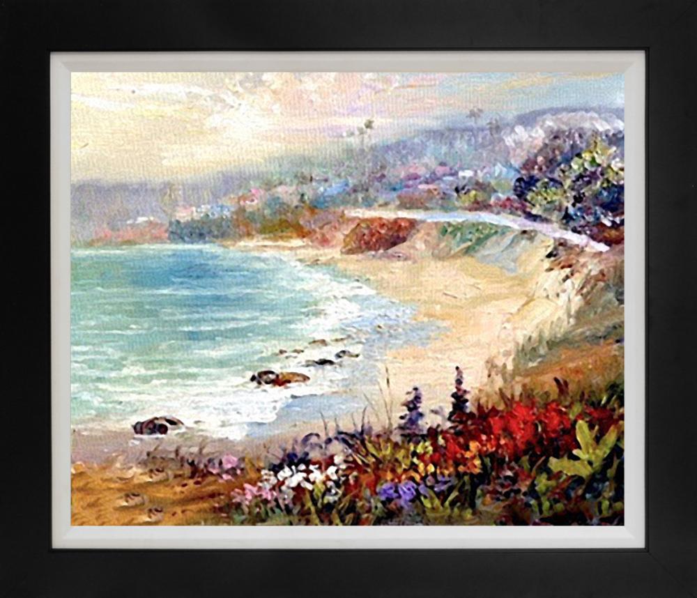Lot 3034: Rafael original oil on canvas