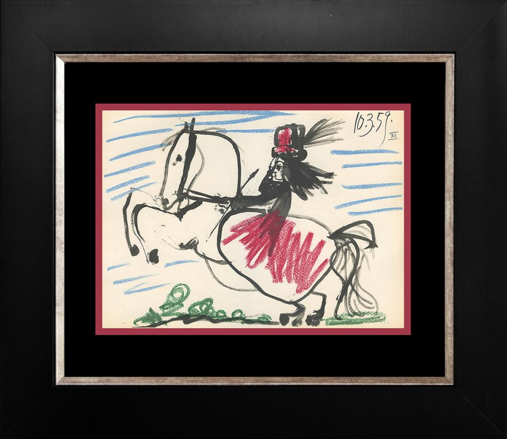 Lot 3041: Pablo Picasso Lithograph from 1961