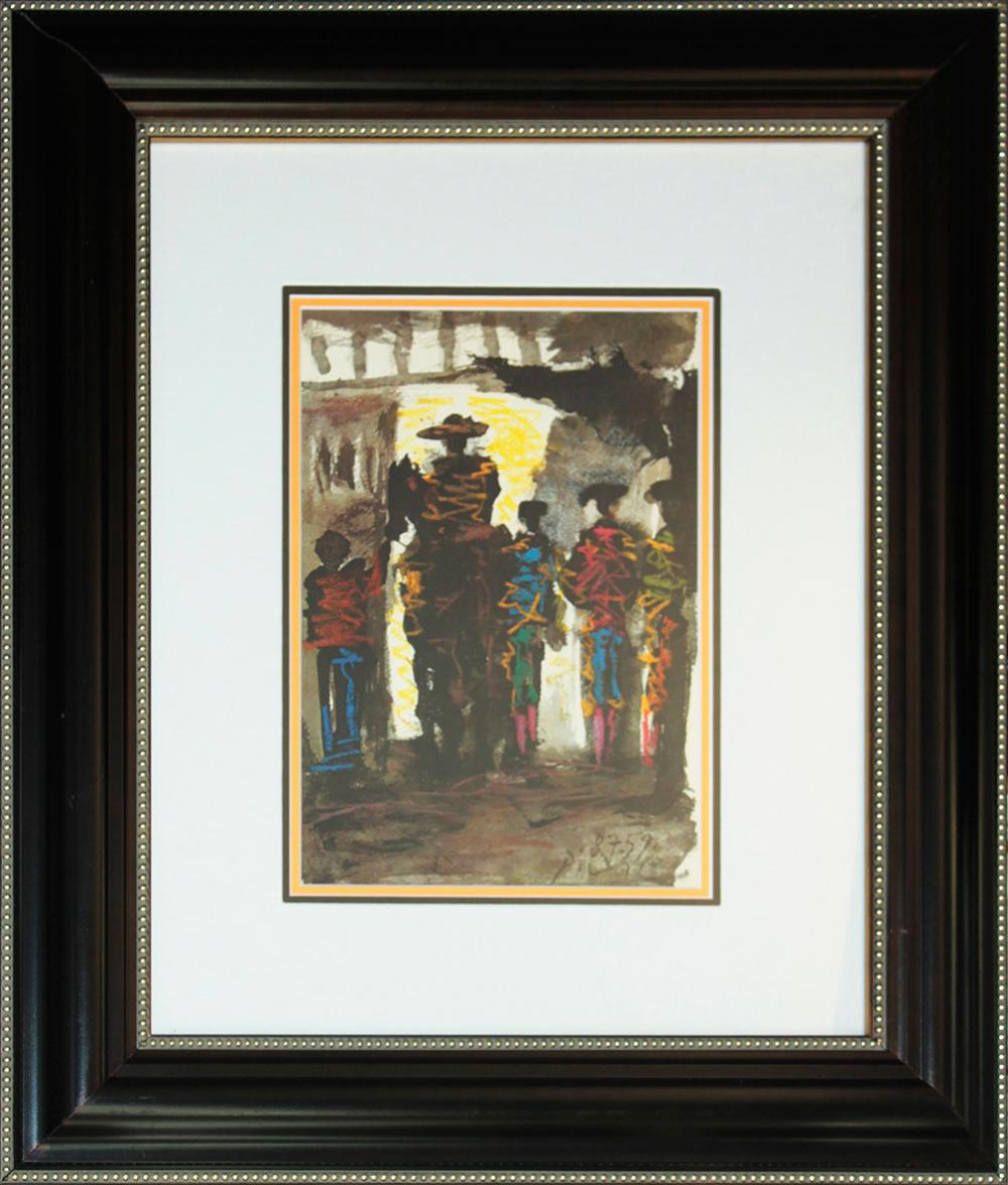 Lot 3036: Pablo Picasso Lithograph