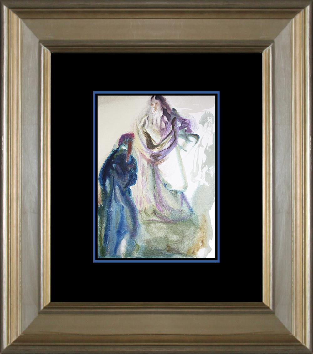 Lot 3043: Salvador Dali Original Wood Block Divine Comedy from 1960