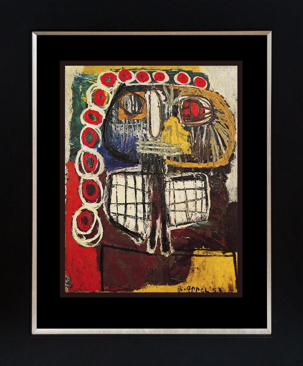 Lot 3008: Karel Appel Lithograph from 1973